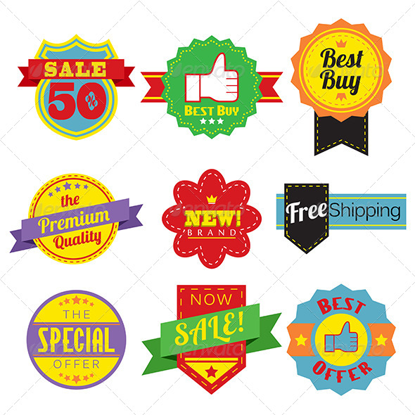 GraphicRiver Sales Tags 6356406