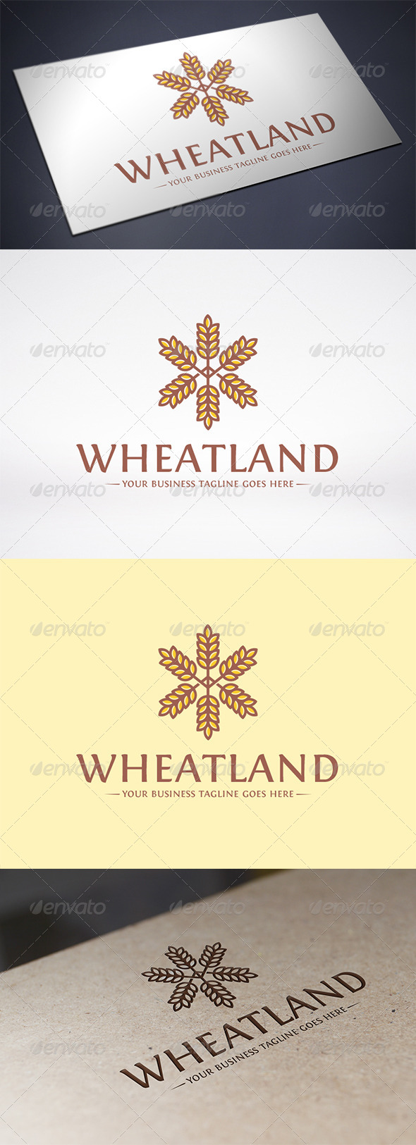 GraphicRiver Wheat Logo Template 6356536