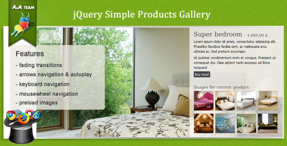 CodeCanyon jQuery Simple Product Gallery 662661