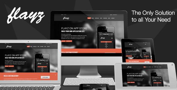 Flayz – Multi Purpose HTML5 Website Template (Portfolio) images