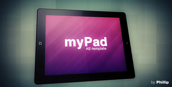 After Effects Project - VideoHive myPad 662728