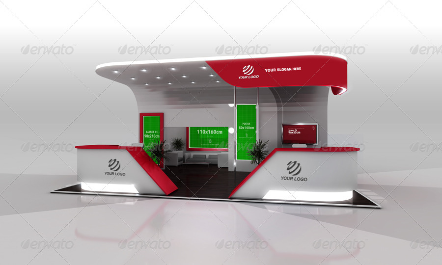 Exhibition Stand Items : Exhibition stand design vol by brahmia graphicriver