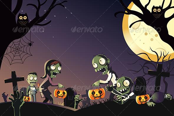 GraphicRiver Halloween 6357166