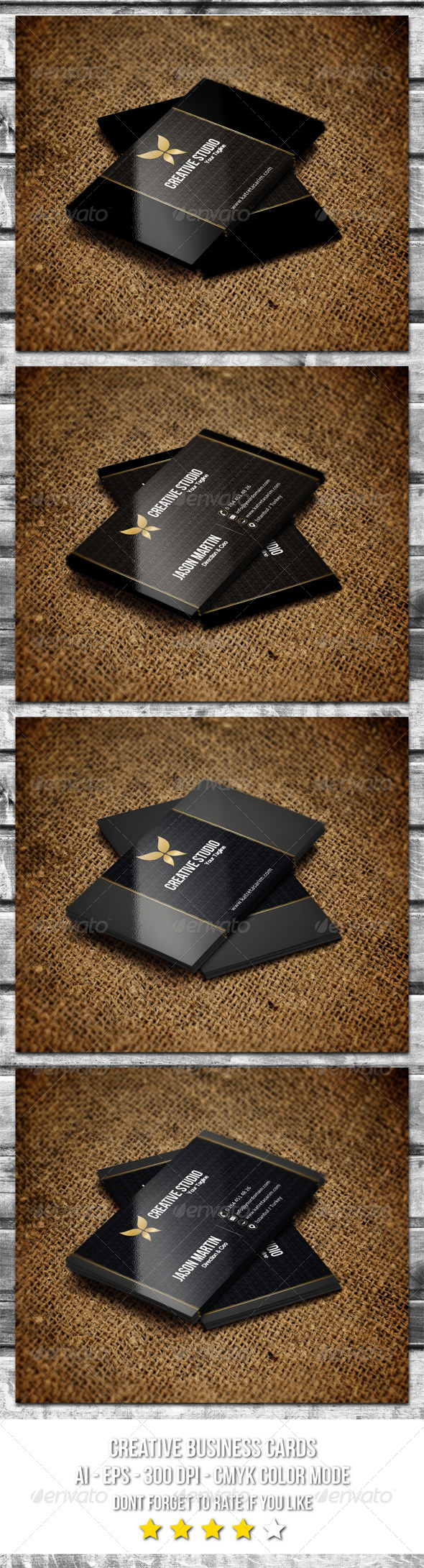GraphicRiver Creative Business Cards 57 6357365