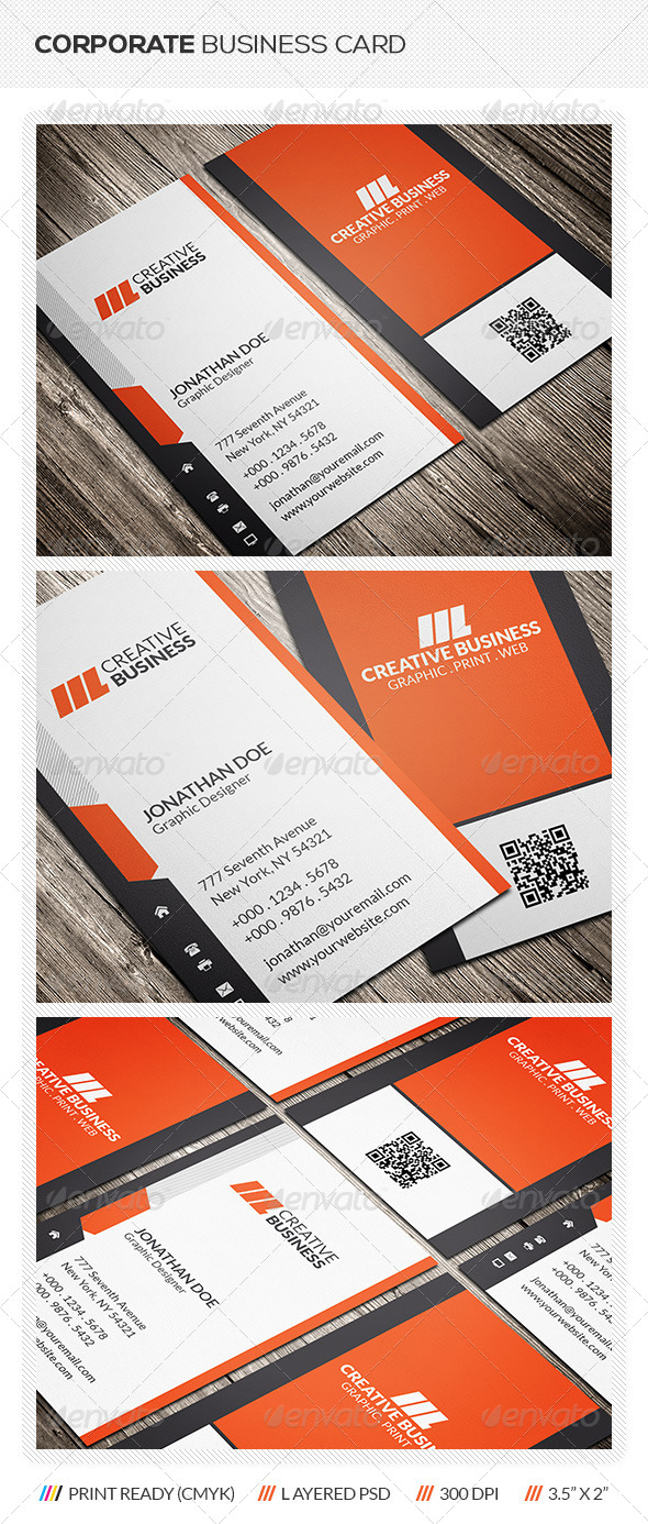 GraphicRiver Creative Corporate Business Card 6357372