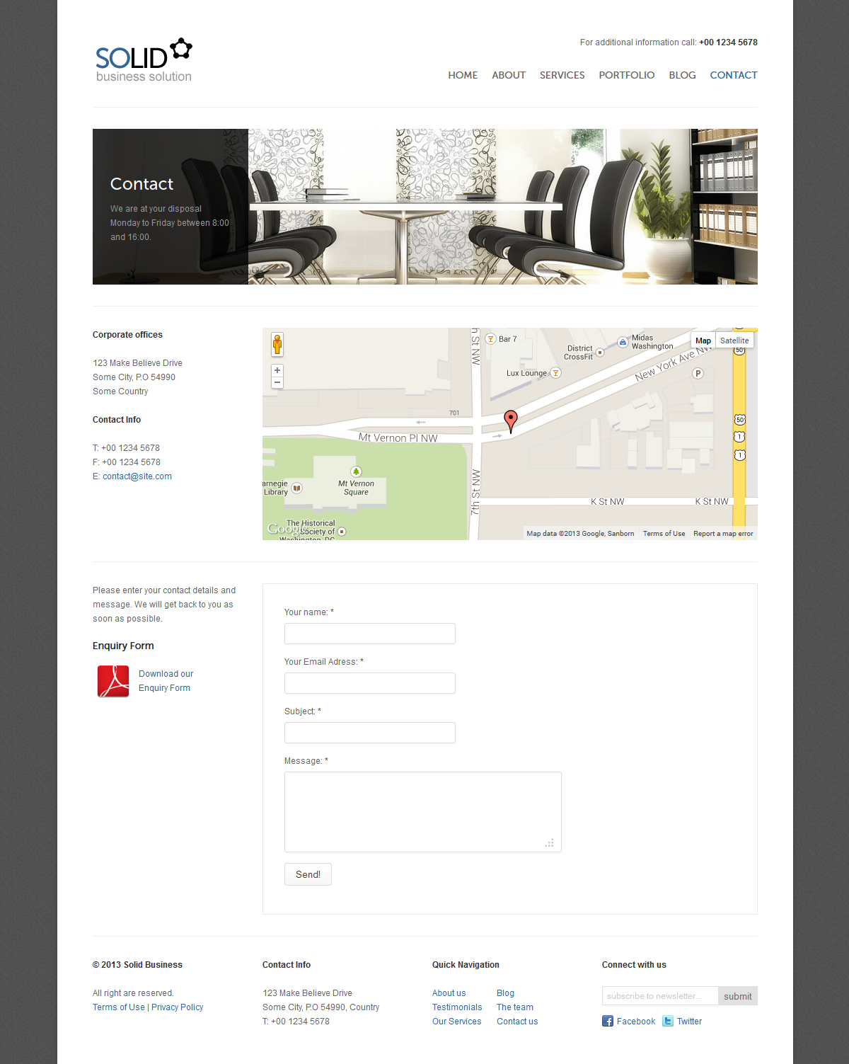 Solid Business v2 - Responsive HTML Template