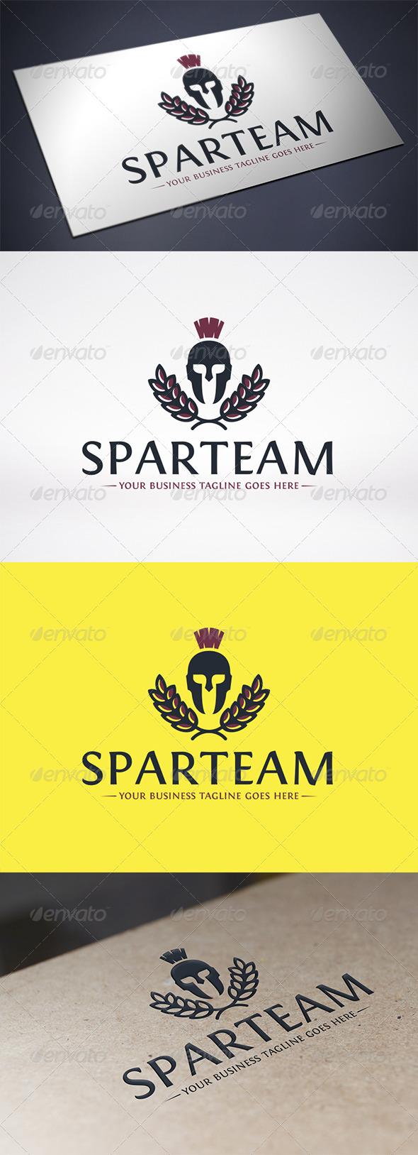 Spartan Logo Template - Crests Logo Templates