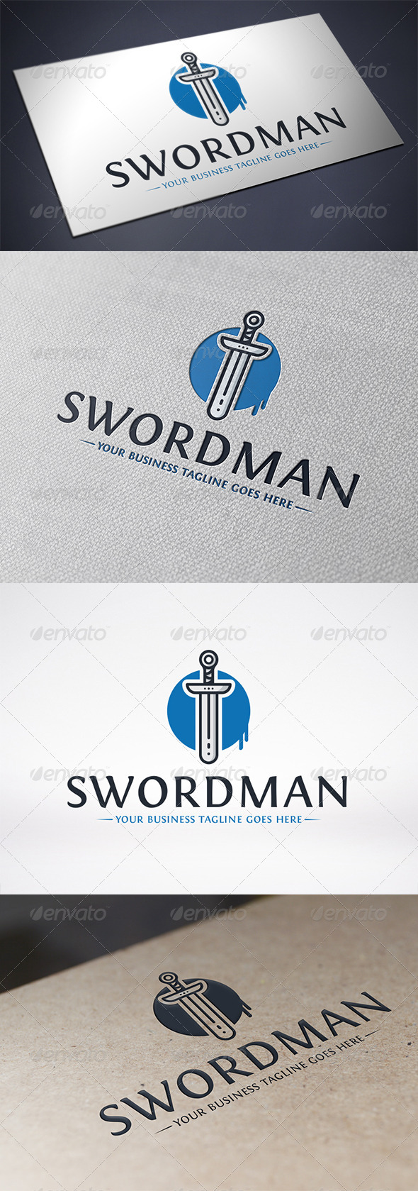 Sword Logo Template - Objects Logo Templates