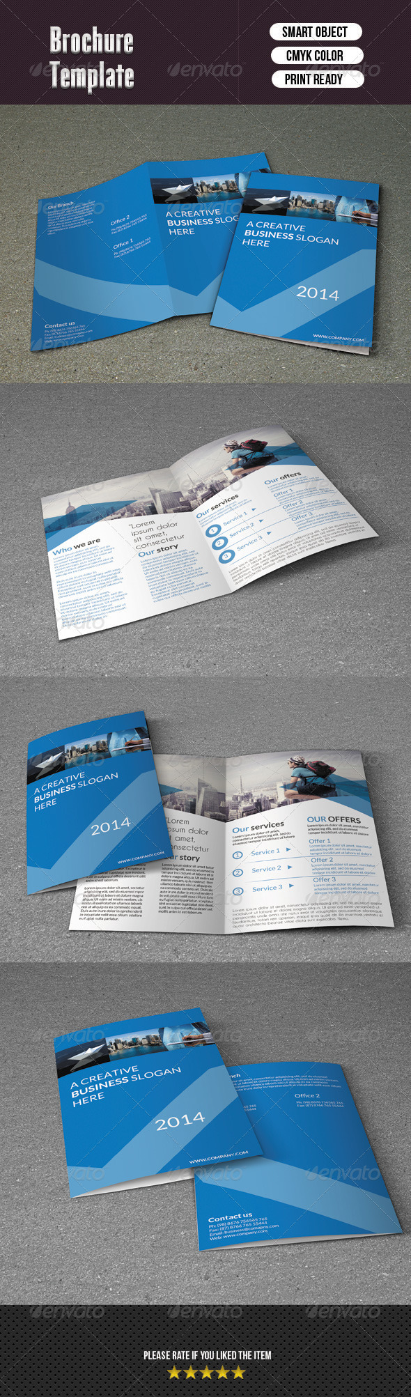 GraphicRiver Corporate Bifold Template 6358380