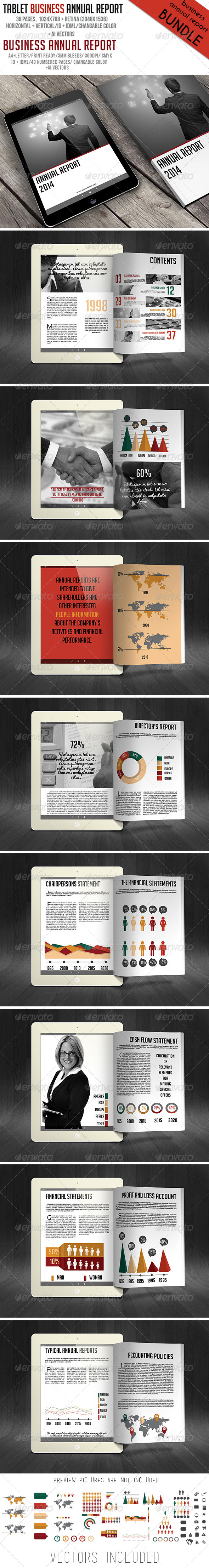GraphicRiver Business Annual Report Bundle 6358649