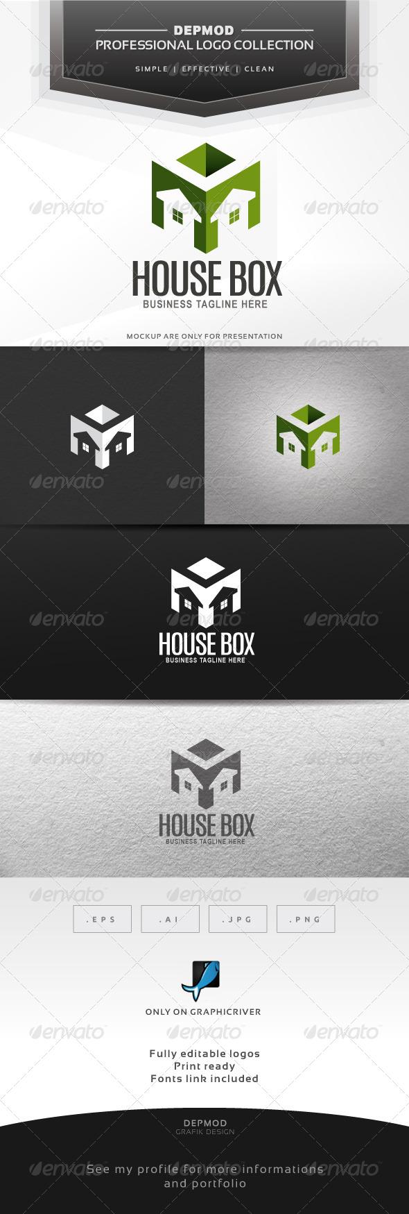 GraphicRiver House Box Logo 6359004