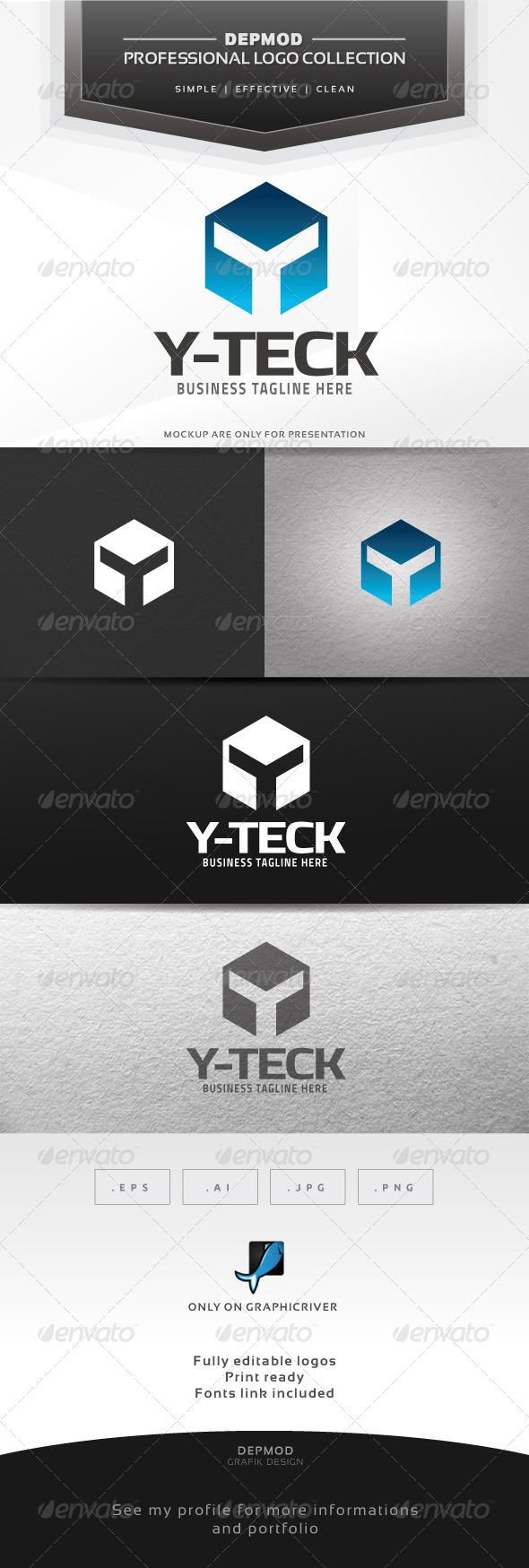 GraphicRiver Y-Teck Logo 6359165