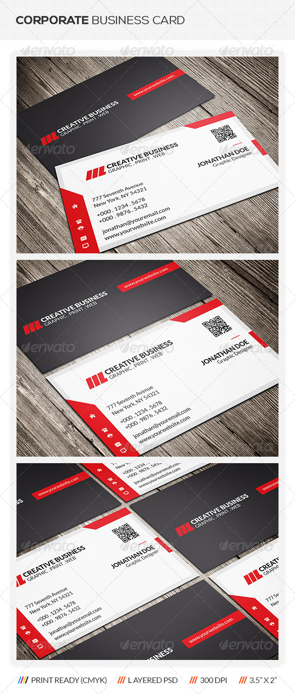 GraphicRiver Modern Corporate Business Card 6359829