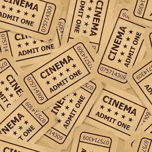 GraphicRiver Cinema Tickets 6359838