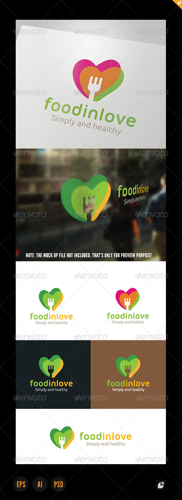 Food In Love Logo