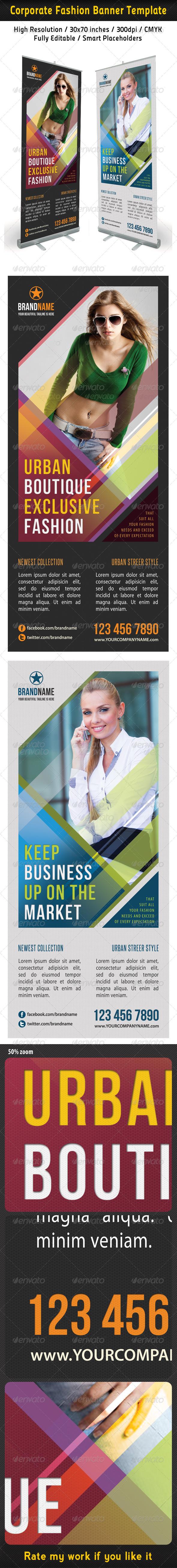 GraphicRiver Corporate Fashion Banner Template 02 6360298