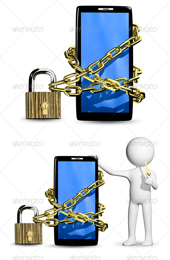 GraphicRiver Person with the Key 6360338