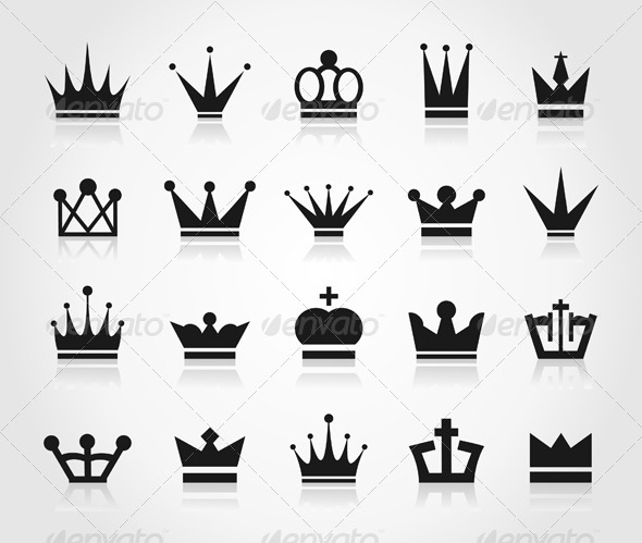 GraphicRiver Crown an Icon 6360406