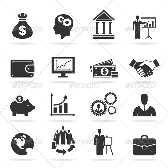 GraphicRiver Icon Business 6360645