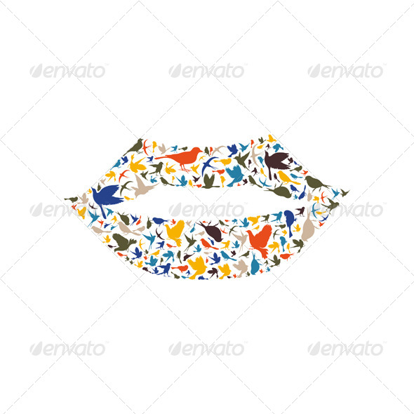 GraphicRiver Lip a Bird 6360660