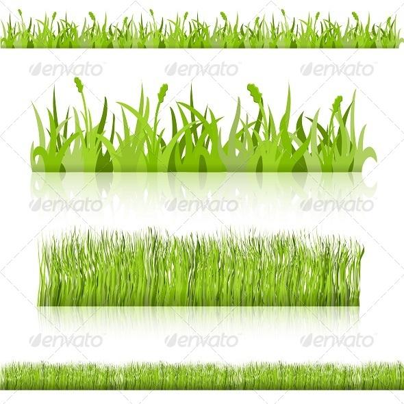 GraphicRiver Set Grass Vector Image 6341010