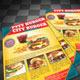 Burger Stor Flyer