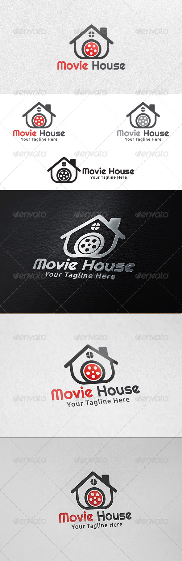 GraphicRiver Movie House Logo Template 6361256