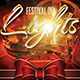 Festival of Lights Christmas Flyer Template - GraphicRiver Item for Sale