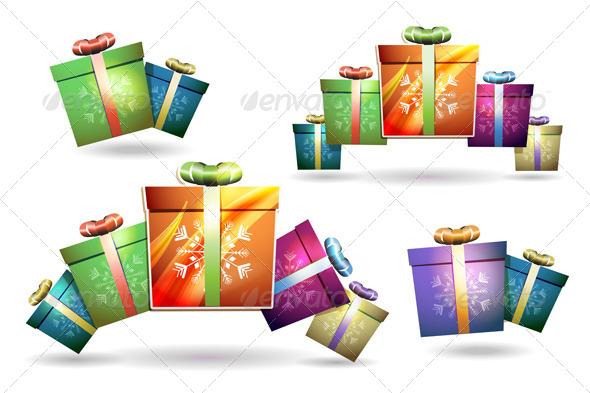 GraphicRiver Christmas Gift Box 6362598