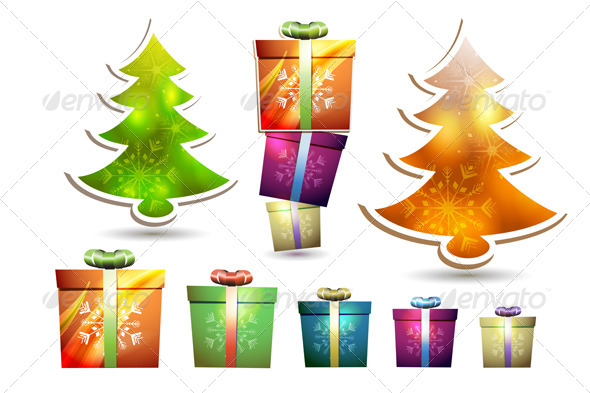 GraphicRiver Christmas Gift Box 6362695