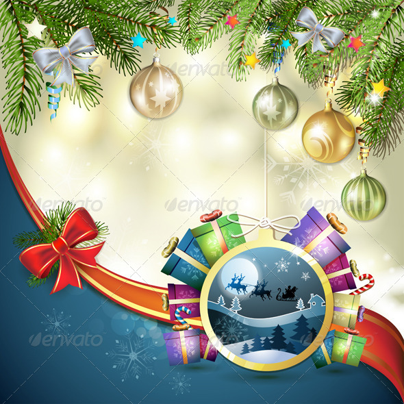 GraphicRiver Christmas with Gifts 6363104