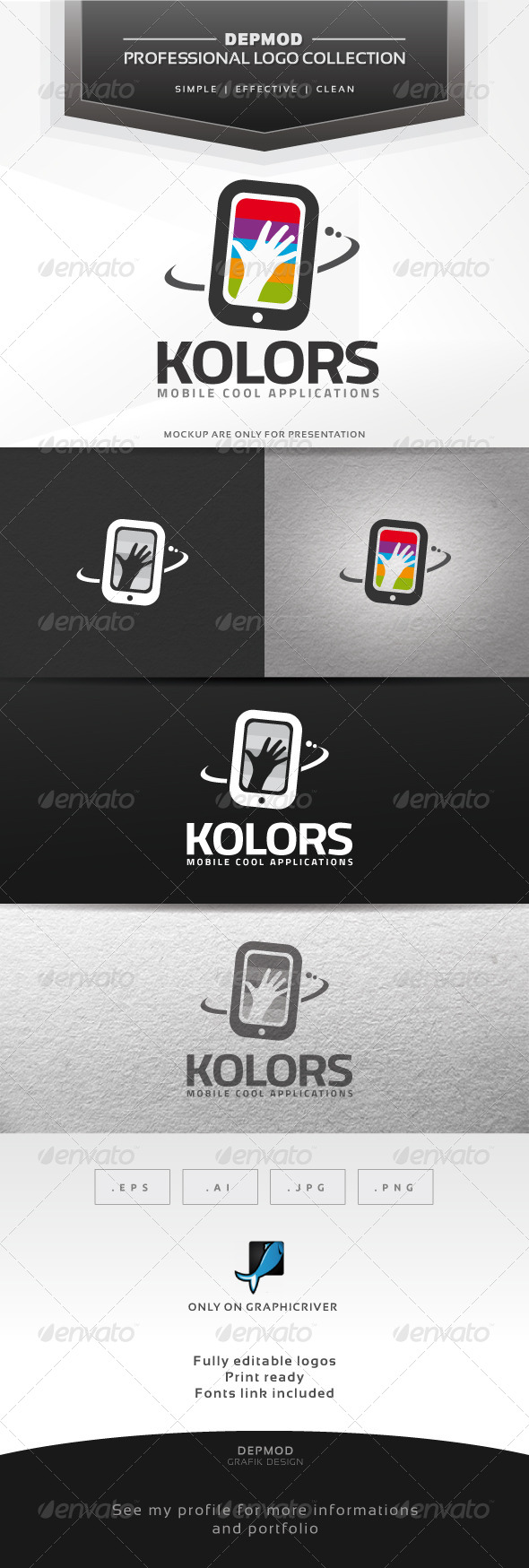 GraphicRiver Kolors Logo 6363119