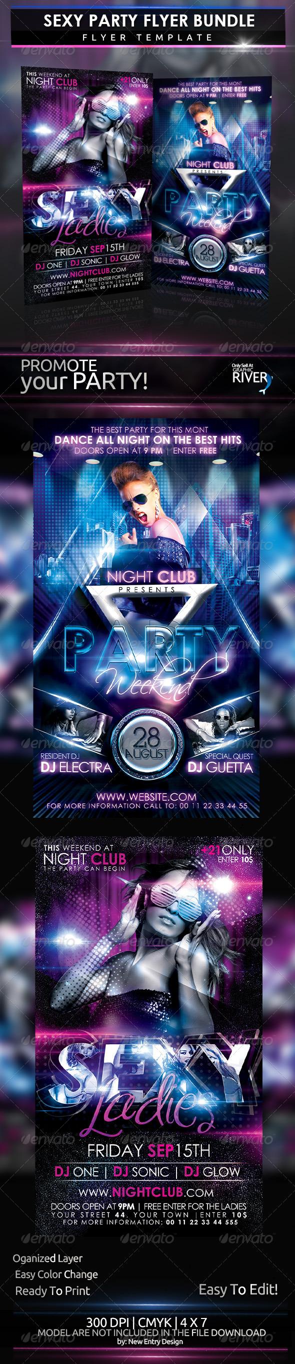 Sexy Party Flyer Bundle