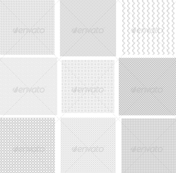 GraphicRiver Light Pixel Seamless Patterns 6363301