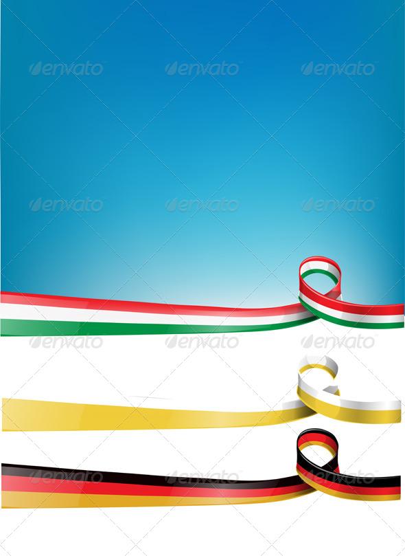 GraphicRiver background Flag Set 6363453