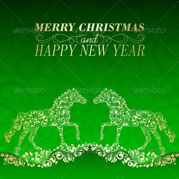 GraphicRiver Christmas Greeting Card 6363669