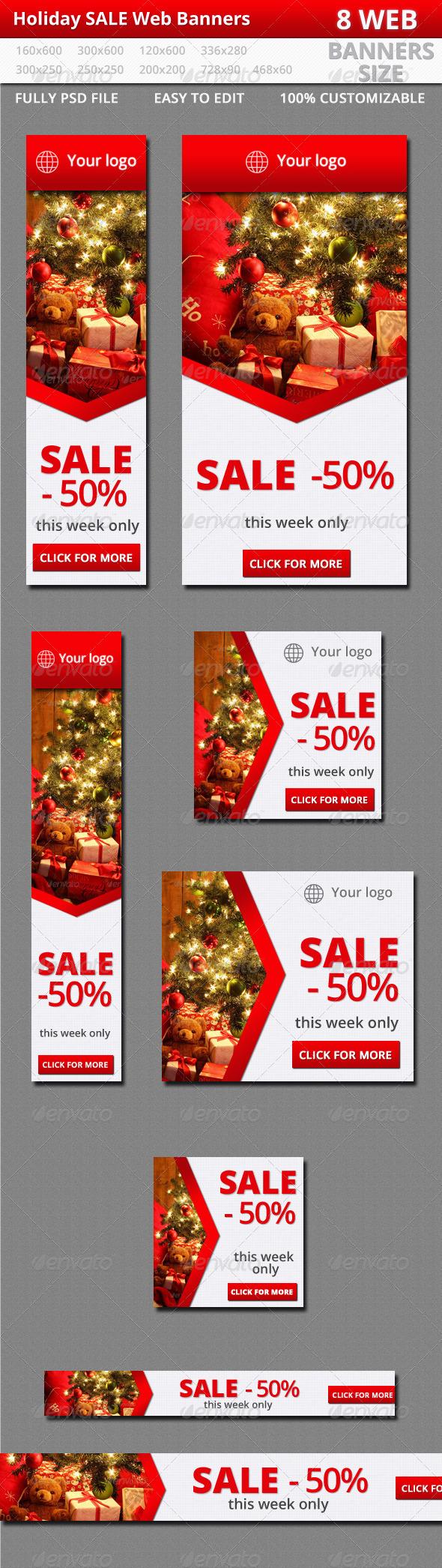GraphicRiver Sale Web Banners 6363730