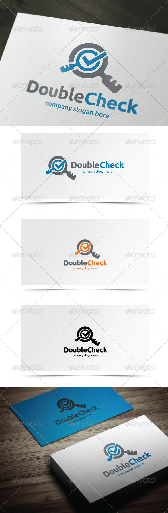 GraphicRiver Double Check 6363799