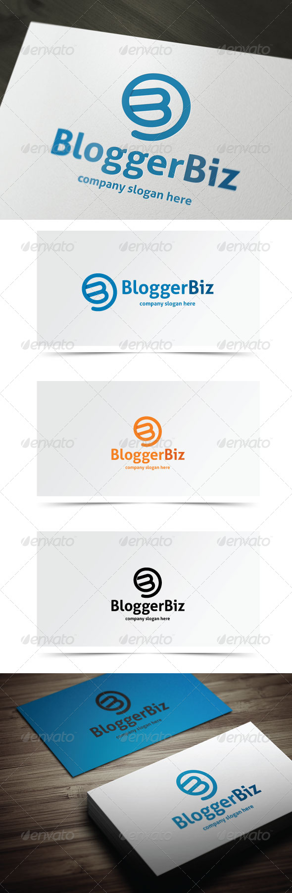 GraphicRiver Blogger Biz 6363831