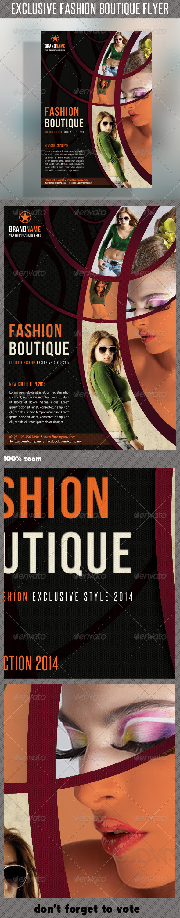 GraphicRiver Fashion Product Flyer 24 6364045
