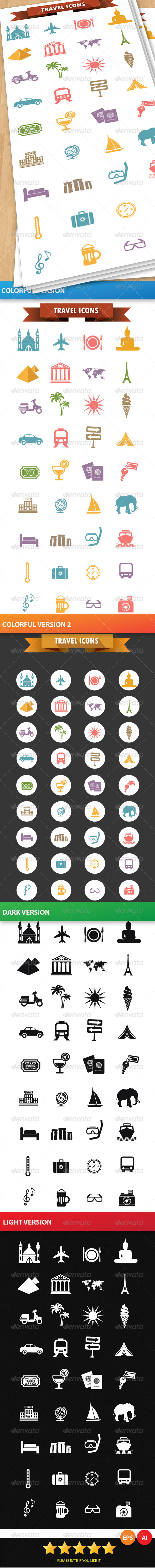 GraphicRiver Travel Icons 6365400