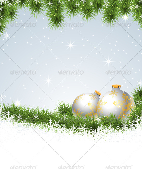 GraphicRiver Christmas Background 6365453