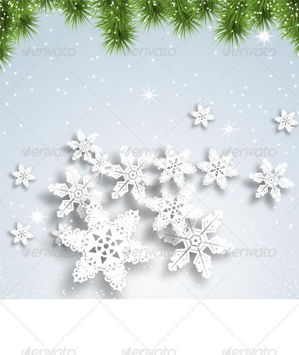 GraphicRiver Christmas Background 6365462