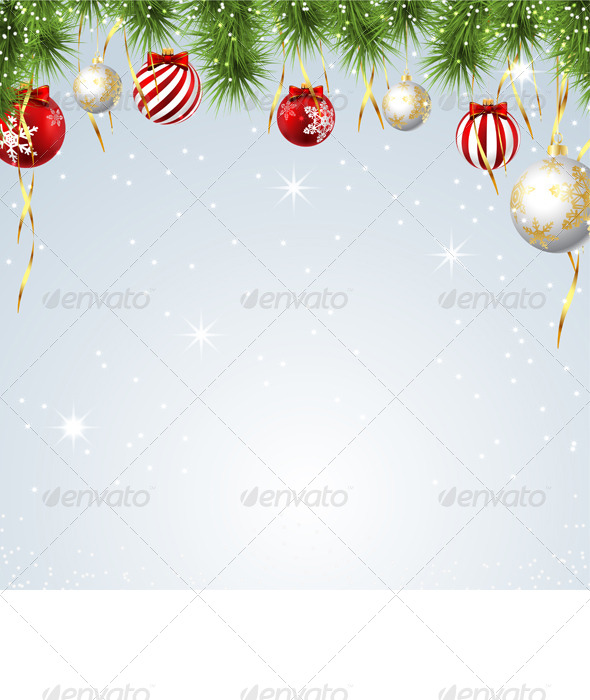 GraphicRiver Christmas Background 6365465