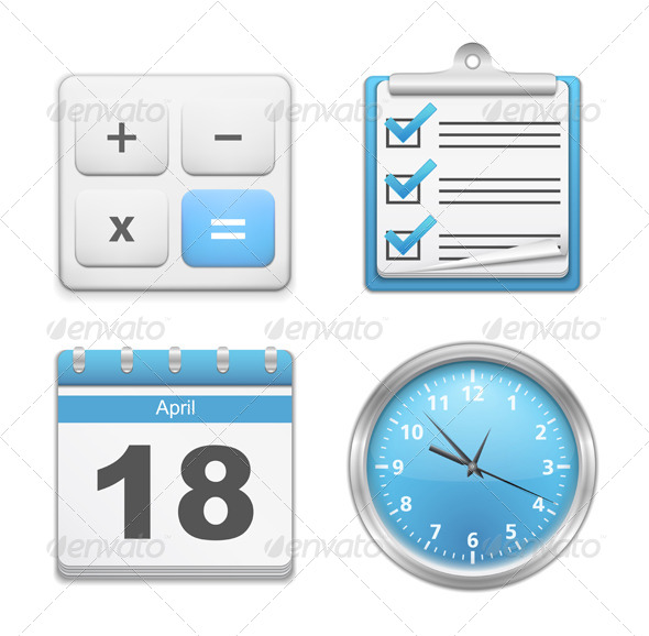 GraphicRiver Office Icons 6365466