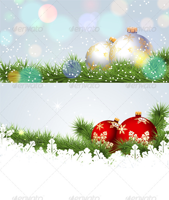 GraphicRiver Christmas Banner 6365467