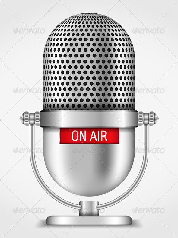 GraphicRiver Microphone 6365472