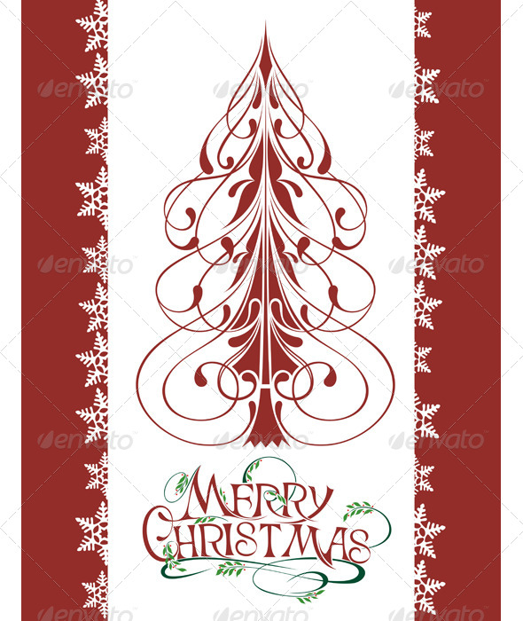 GraphicRiver Christmas Tree 6365575