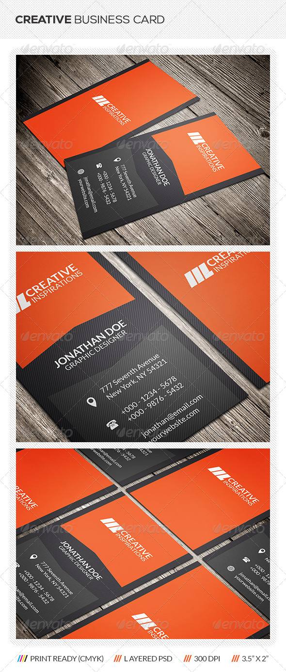 GraphicRiver Creative Business Card 6365631
