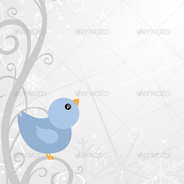 GraphicRiver Winter Background Design 6365722